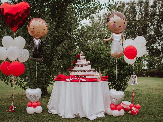 Il matrimonio di Simone e Francesca a Inzago, Milano 84