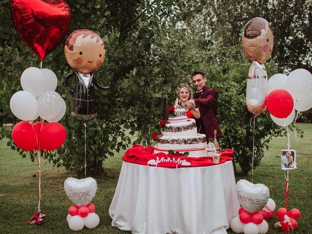 Il matrimonio di Simone e Francesca a Inzago, Milano 85