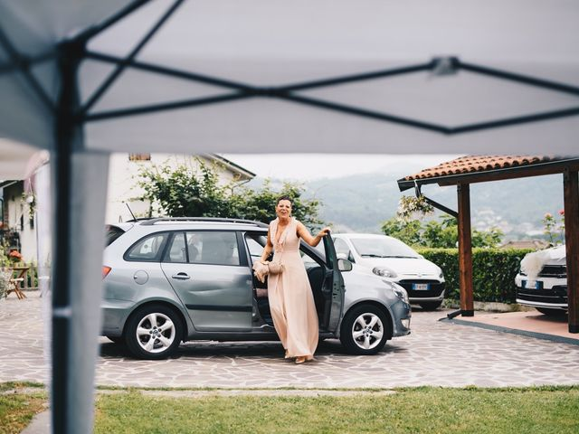 Il matrimonio di Achille e Tea a Carrodano, La Spezia 14