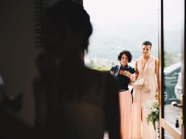 Il matrimonio di Achille e Tea a Carrodano, La Spezia 38