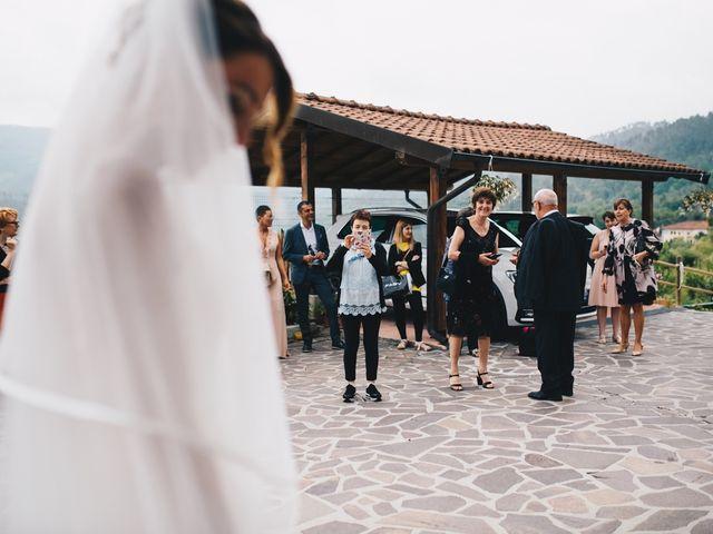 Il matrimonio di Achille e Tea a Carrodano, La Spezia 50