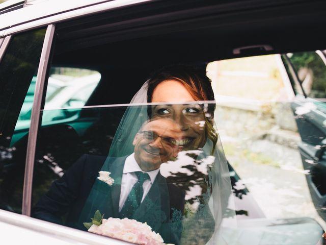 Il matrimonio di Achille e Tea a Carrodano, La Spezia 55