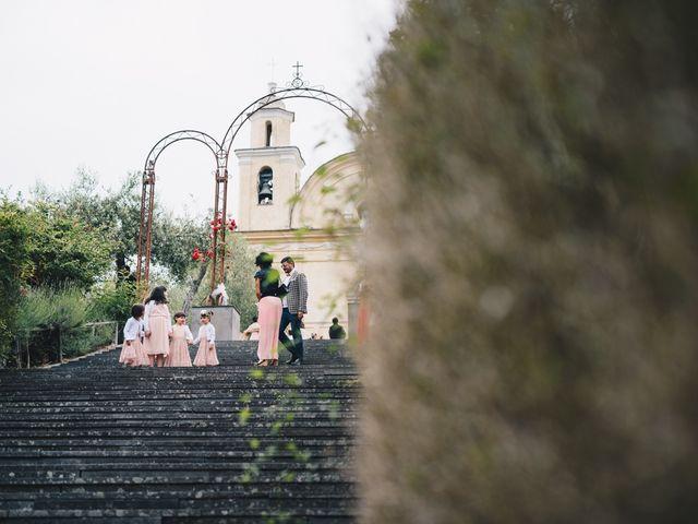 Il matrimonio di Achille e Tea a Carrodano, La Spezia 56