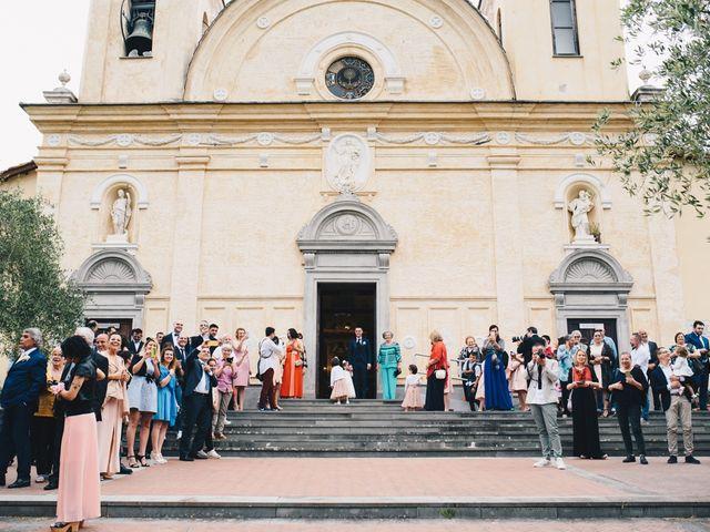 Il matrimonio di Achille e Tea a Carrodano, La Spezia 58