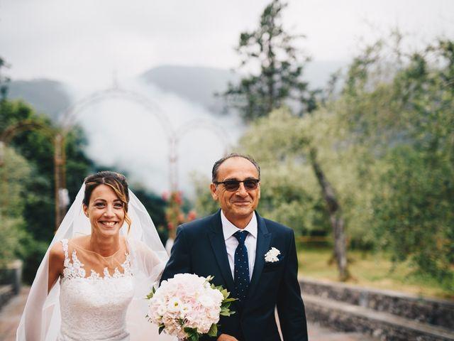 Il matrimonio di Achille e Tea a Carrodano, La Spezia 60