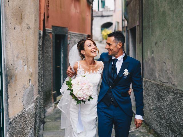 Il matrimonio di Achille e Tea a Carrodano, La Spezia 96