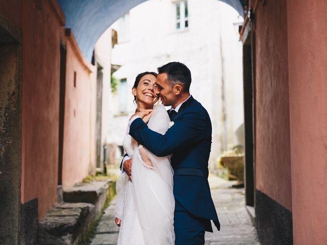 Il matrimonio di Achille e Tea a Carrodano, La Spezia 106