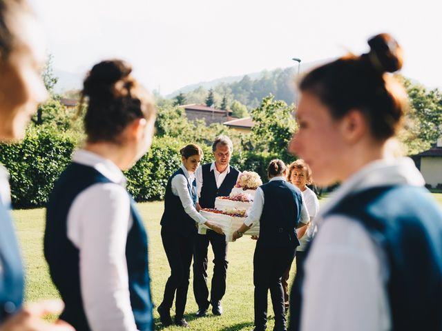 Il matrimonio di Achille e Tea a Carrodano, La Spezia 152
