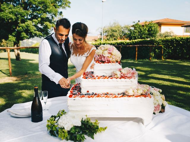 Il matrimonio di Achille e Tea a Carrodano, La Spezia 157