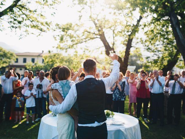 Il matrimonio di Achille e Tea a Carrodano, La Spezia 159