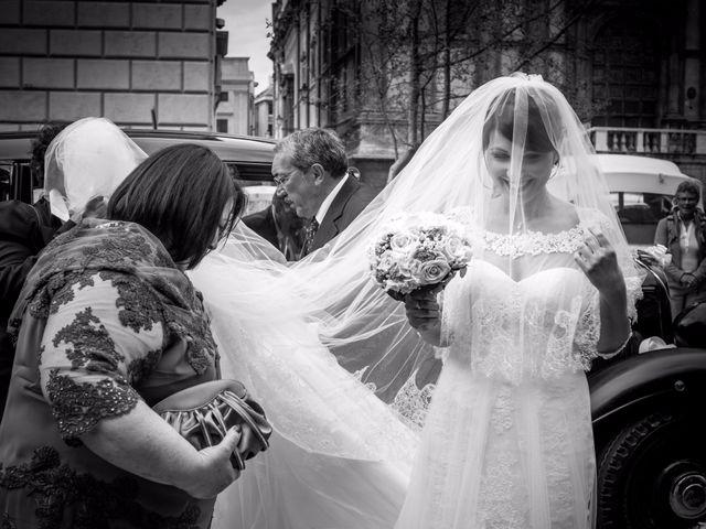 le nozze di Caterina e Sebastiano