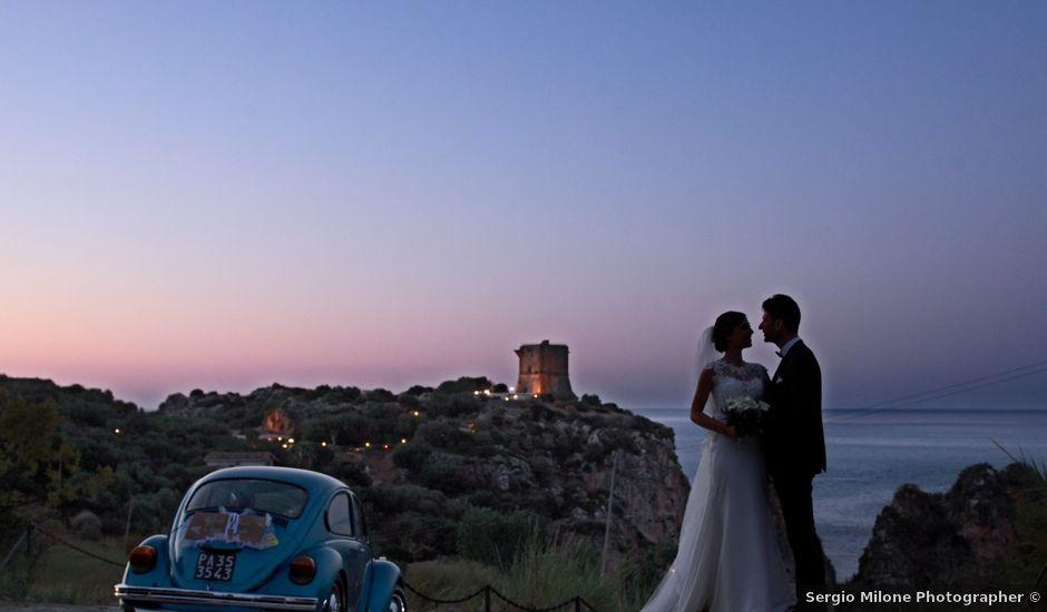 Il matrimonio di Gabriele e Anna a Castellammare del Golfo, Trapani