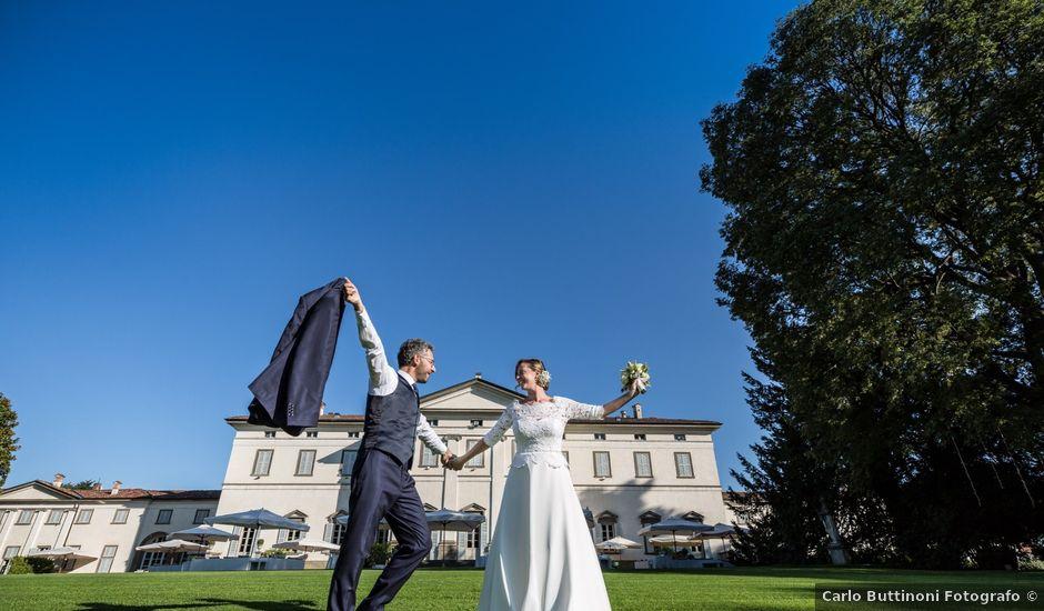 Il matrimonio di Zeno e Diana a Dalmine, Bergamo