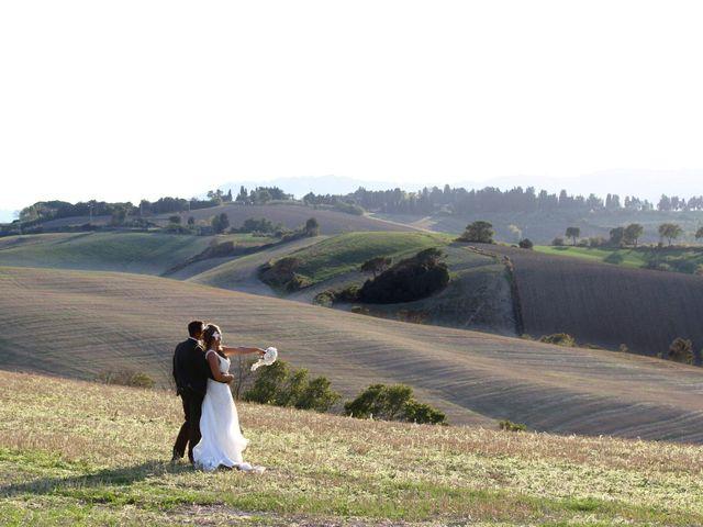 Il matrimonio di Valentino e Claudia a Fauglia, Pisa 1