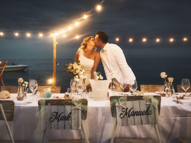 Le nozze di Mark e Manuela