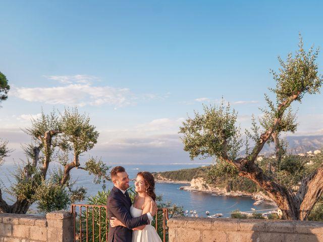 Il matrimonio di Chiara e Benedetto a Massa Lubrense, Napoli 64