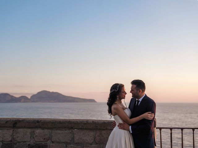 Il matrimonio di Chiara e Benedetto a Massa Lubrense, Napoli 67