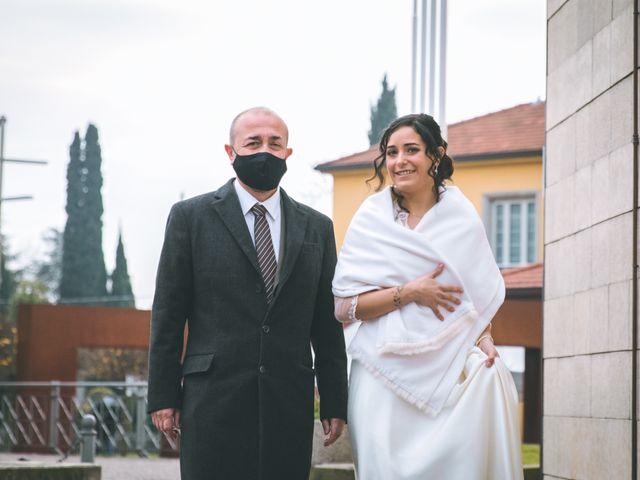 Il matrimonio di Sebastiàn e Sara a Scanzorosciate, Bergamo 64