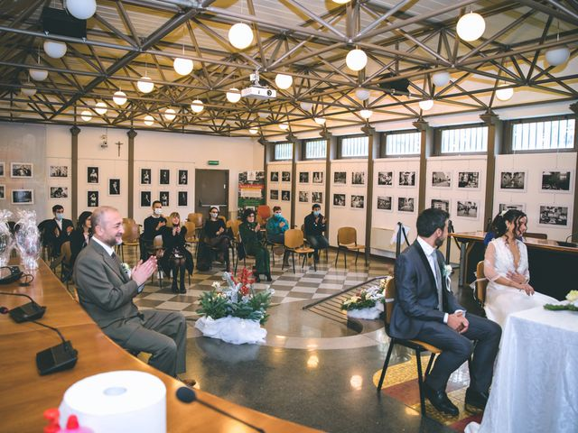 Il matrimonio di Sebastiàn e Sara a Scanzorosciate, Bergamo 104