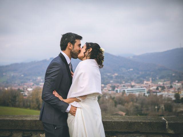 Il matrimonio di Sebastiàn e Sara a Scanzorosciate, Bergamo 175