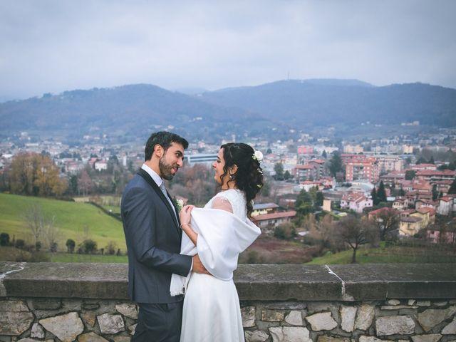 Il matrimonio di Sebastiàn e Sara a Scanzorosciate, Bergamo 179