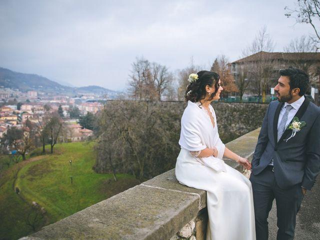 Il matrimonio di Sebastiàn e Sara a Scanzorosciate, Bergamo 185