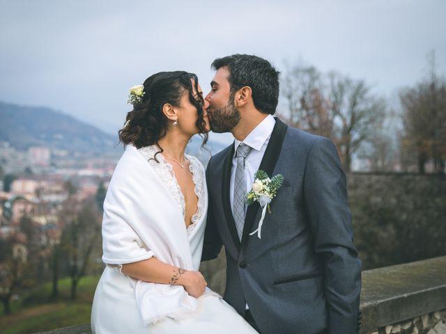 Il matrimonio di Sebastiàn e Sara a Scanzorosciate, Bergamo 187