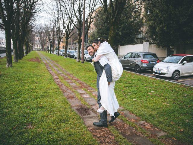 Il matrimonio di Sebastiàn e Sara a Scanzorosciate, Bergamo 204