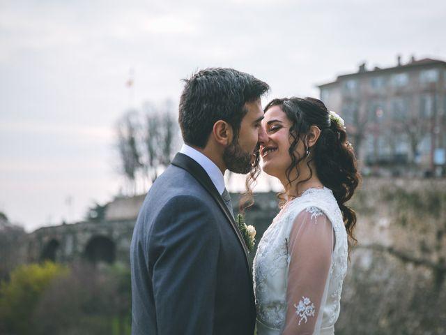 Il matrimonio di Sebastiàn e Sara a Scanzorosciate, Bergamo 214
