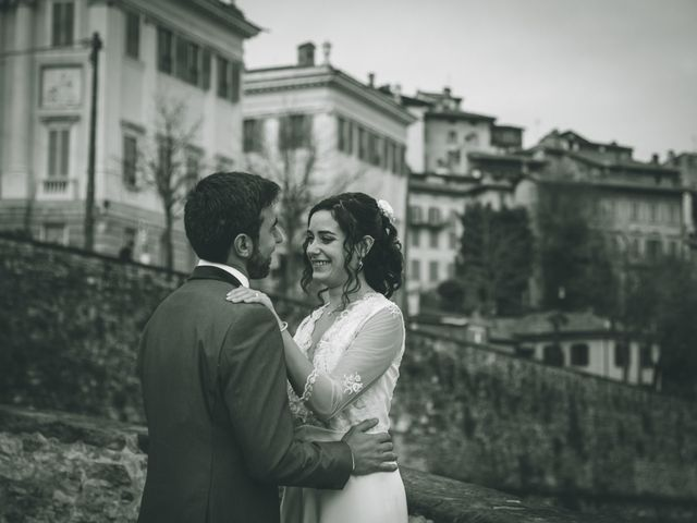 Il matrimonio di Sebastiàn e Sara a Scanzorosciate, Bergamo 225