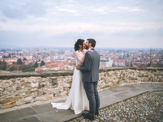 Il matrimonio di Sebastiàn e Sara a Scanzorosciate, Bergamo 226