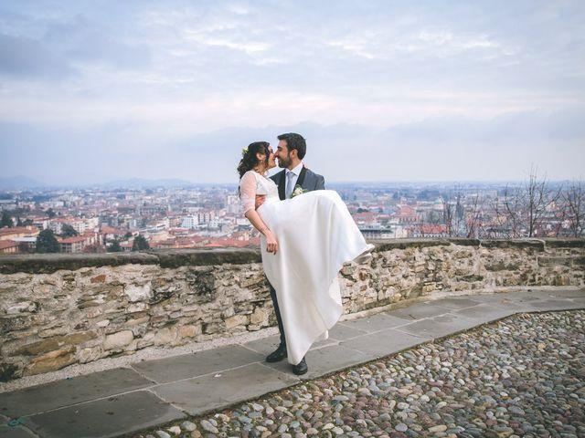 Il matrimonio di Sebastiàn e Sara a Scanzorosciate, Bergamo 229