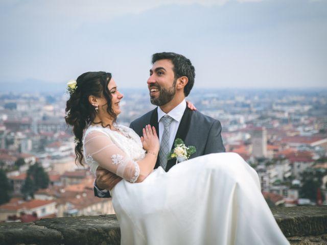 Il matrimonio di Sebastiàn e Sara a Scanzorosciate, Bergamo 230