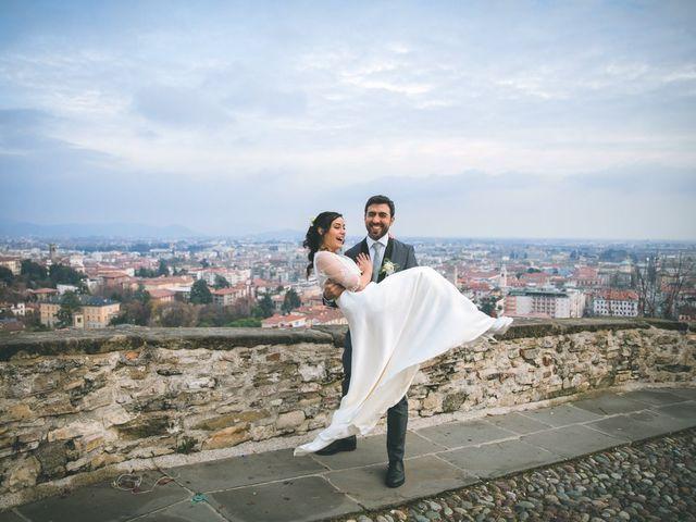 Il matrimonio di Sebastiàn e Sara a Scanzorosciate, Bergamo 231