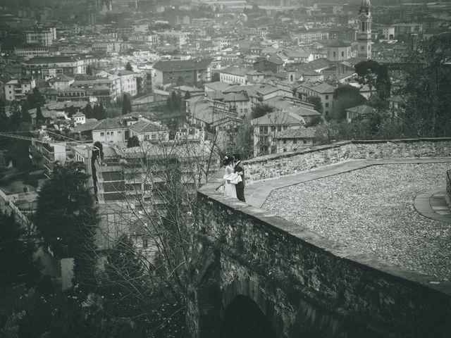 Il matrimonio di Sebastiàn e Sara a Scanzorosciate, Bergamo 237