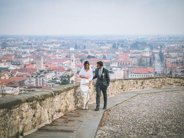 Il matrimonio di Sebastiàn e Sara a Scanzorosciate, Bergamo 238