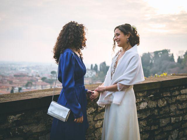Il matrimonio di Sebastiàn e Sara a Scanzorosciate, Bergamo 240