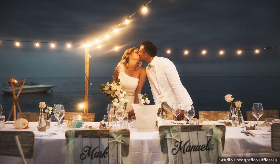 Il matrimonio di Manuela e Mark a Albissola Marina, Savona