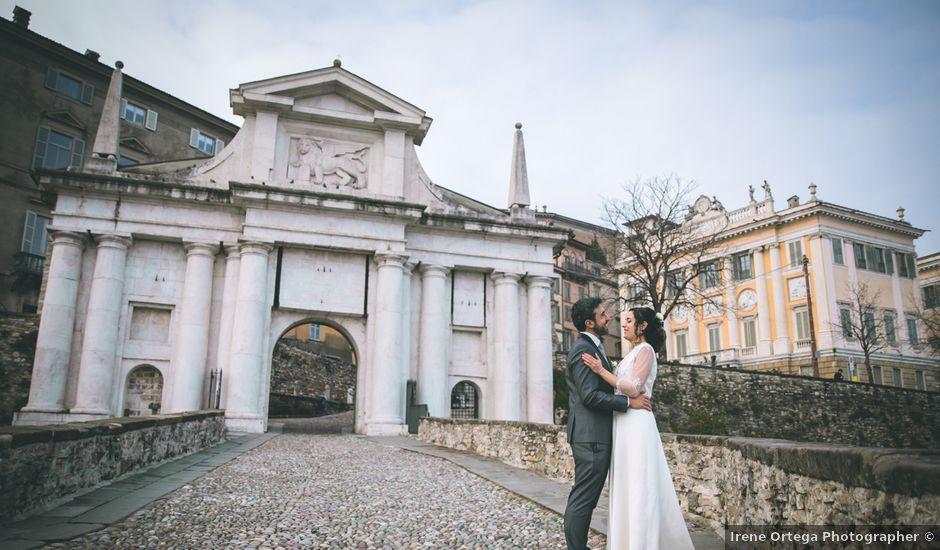 Il matrimonio di Sebastiàn e Sara a Scanzorosciate, Bergamo