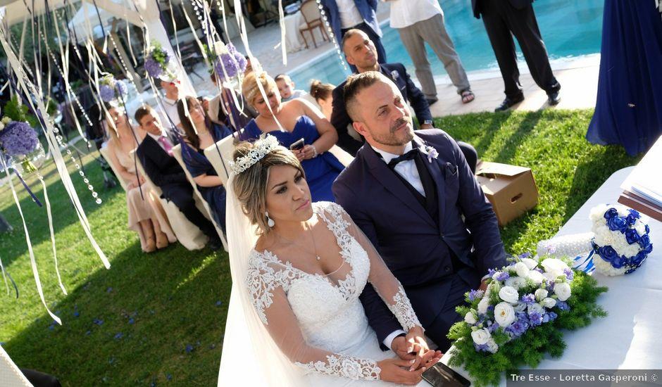 Il matrimonio di oreste e karla a Orte, Viterbo