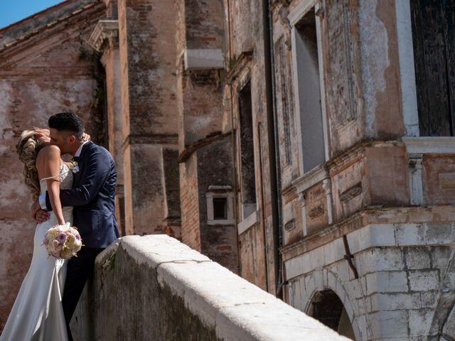 le nozze di Marilena e Omar