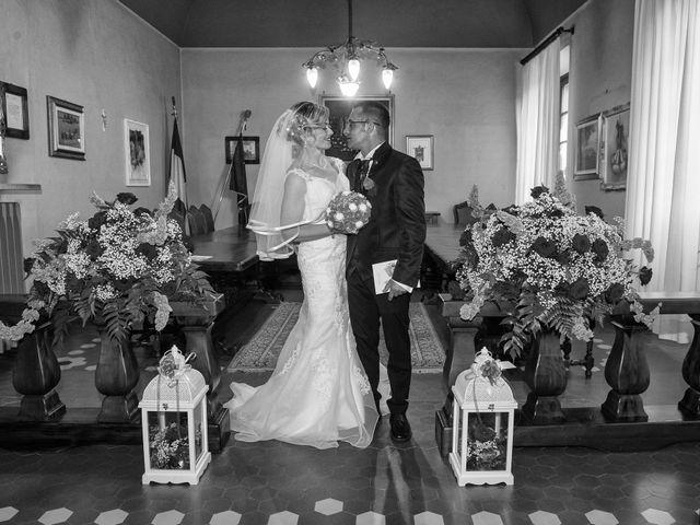 Il matrimonio di Samuel e Katia a Breme, Pavia 14