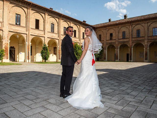 Il matrimonio di Samuel e Katia a Breme, Pavia 17