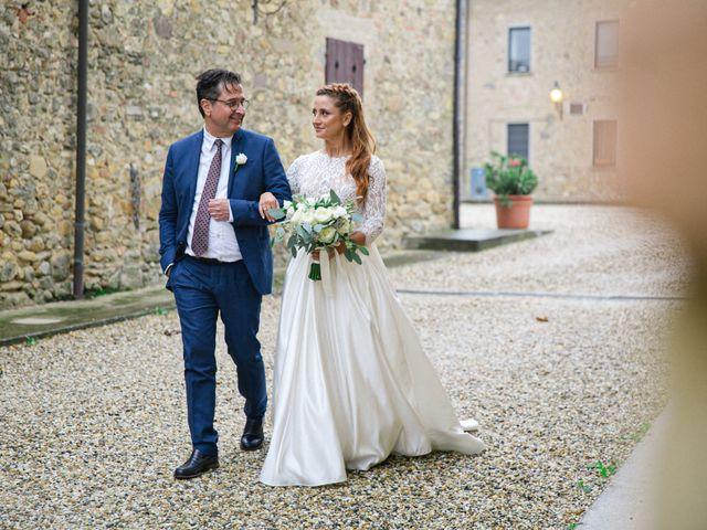 Il matrimonio di Valerio e Giulia a Rocca Susella, Pavia 9