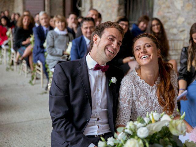 Il matrimonio di Valerio e Giulia a Rocca Susella, Pavia 10