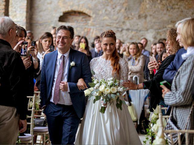 Il matrimonio di Valerio e Giulia a Rocca Susella, Pavia 11