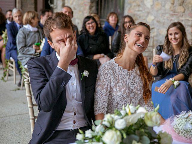 Il matrimonio di Valerio e Giulia a Rocca Susella, Pavia 15