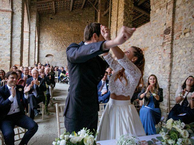 Il matrimonio di Valerio e Giulia a Rocca Susella, Pavia 17