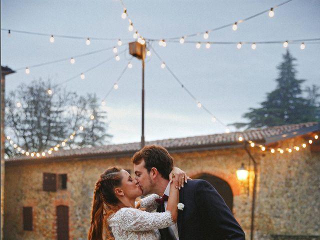 Il matrimonio di Valerio e Giulia a Rocca Susella, Pavia 1