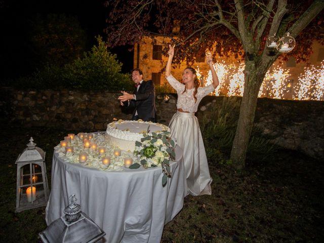 Il matrimonio di Valerio e Giulia a Rocca Susella, Pavia 25